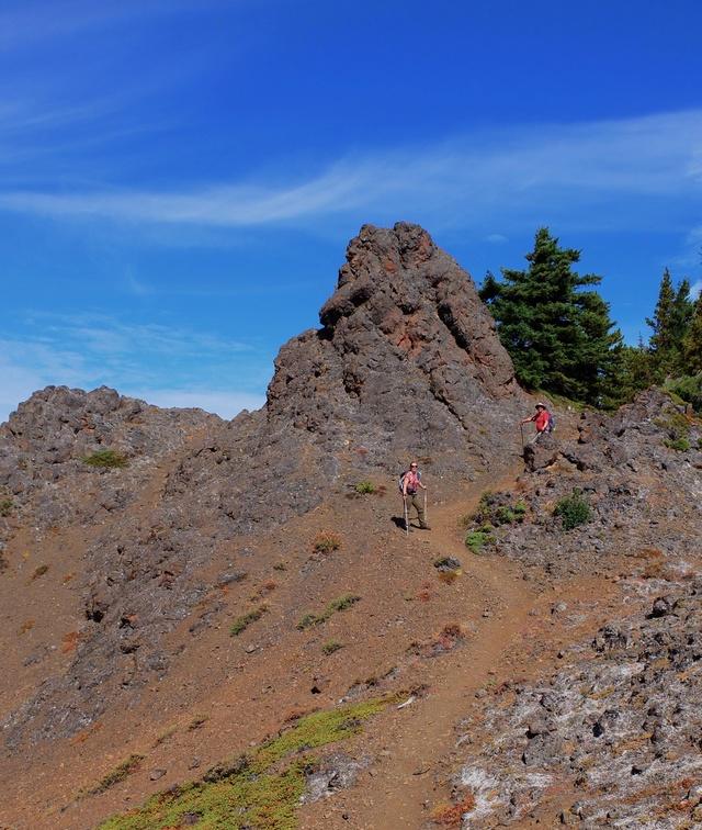 Hiking with Dogs: Mt. Townsend, Olympic Peninsula, WA Dscf0814