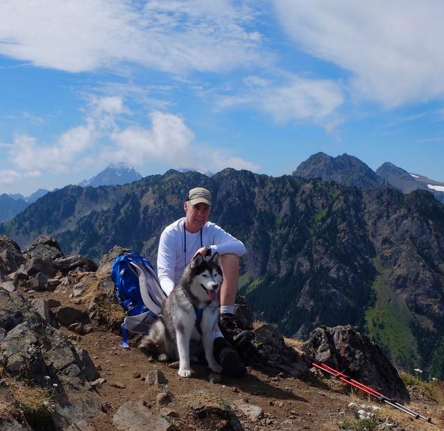 Hiking with Dogs: Mt. Townsend, Olympic Peninsula, WA Dscf0817