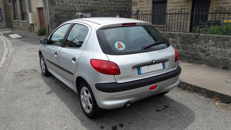 Présentation de ma Peugeot 206 X-Line Pack Clim  3_peti12
