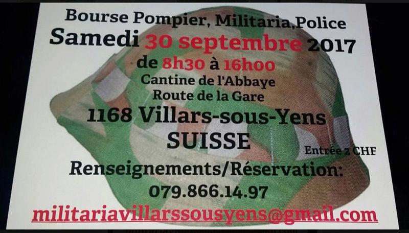 bourse militaria Villars-sous-Yens 30.09.17 Bourse10