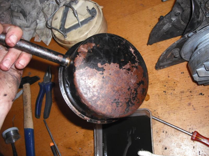 Les pétrolettes d'époque de Juju, restaurations, méca, sauvetage Dscf2718