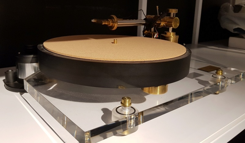 Pre-Audio ASP1501N Turntable with liner tracking tonearm Asp15012
