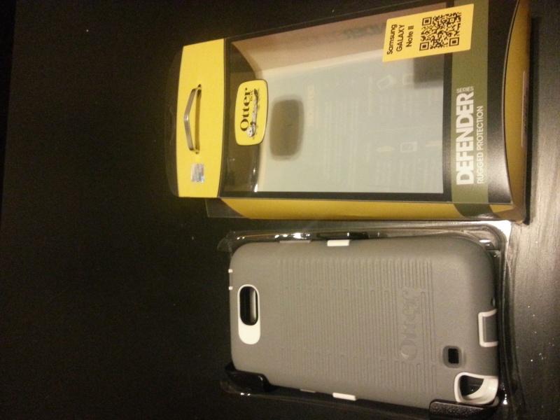 [ACCESSOIRE] Test housse OTTERBOX Defender Series pour Samsung Galaxy Note 2  20121210