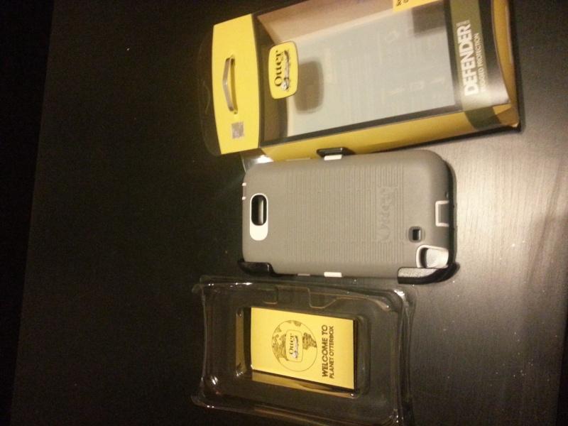 [ACCESSOIRE] Test housse OTTERBOX Defender Series pour Samsung Galaxy Note 2  20121211
