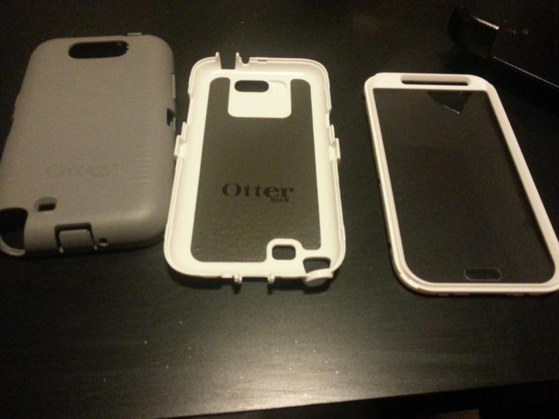 [ACCESSOIRE] Test housse OTTERBOX Defender Series pour Samsung Galaxy Note 2  20121216