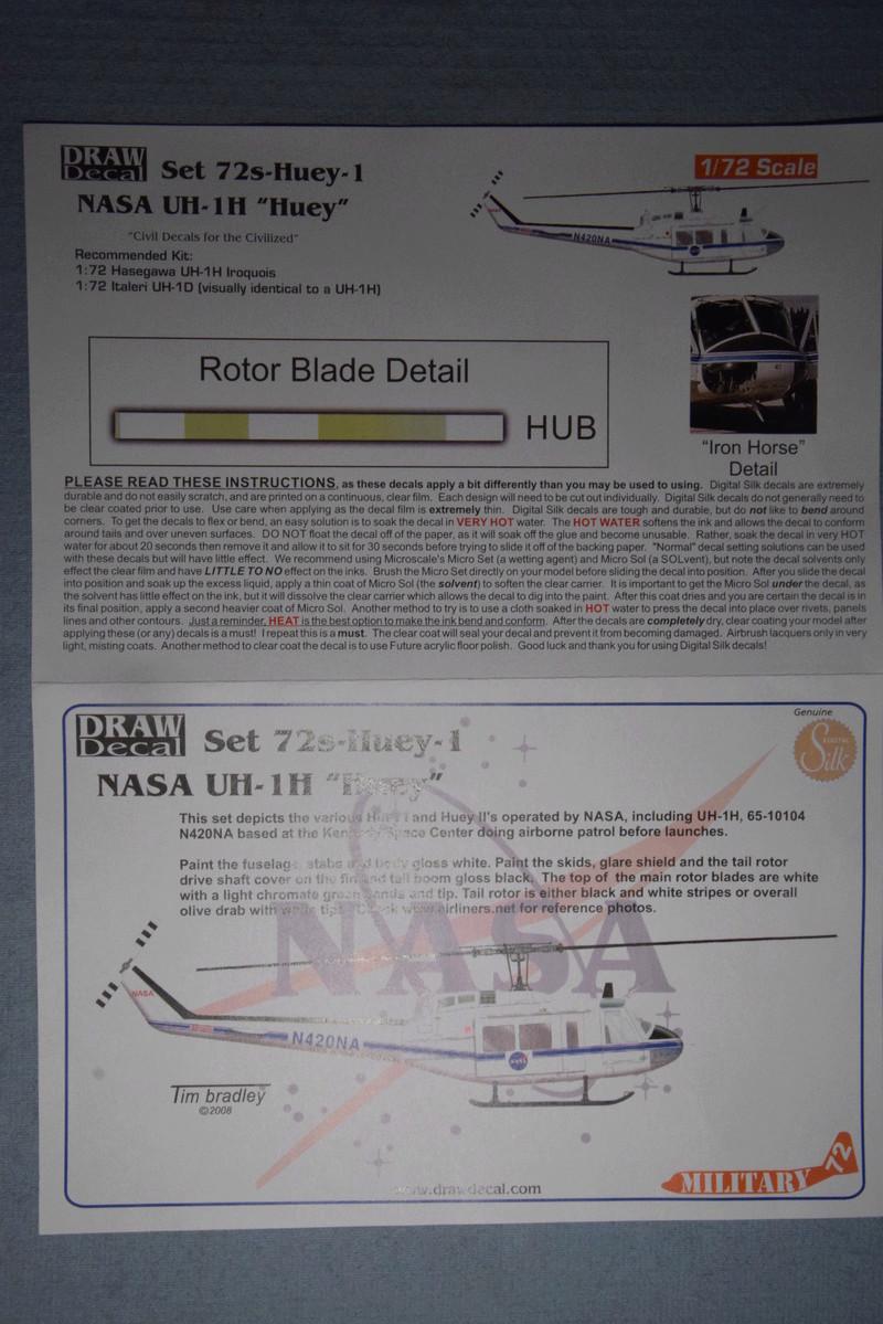 """Bell Huey UH-1H """"NASA"""" - Revell - 1/72 01513"""