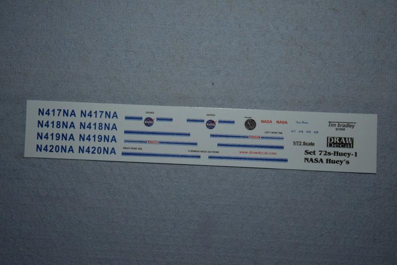 """Bell Huey UH-1H """"NASA"""" - Revell - 1/72 01612"""