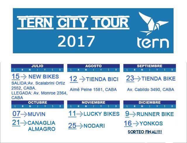 TERN CITY TOUR desde NEW BIKES  * FECHA REPROGRAMADA * 19894610