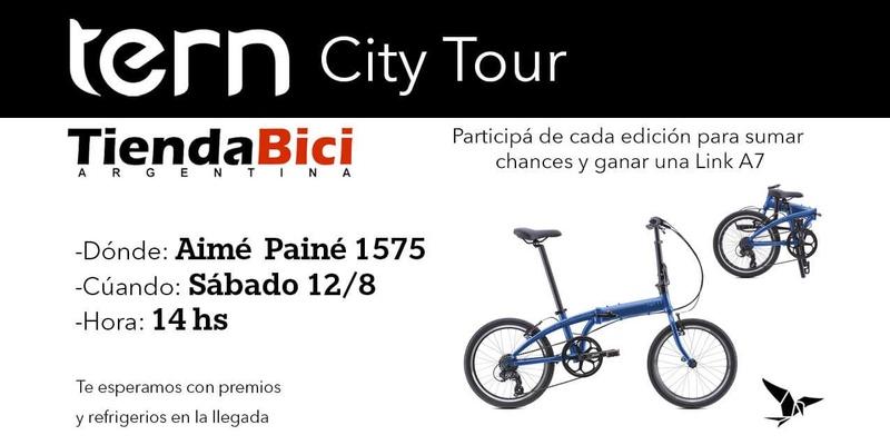 TERN CITY TOUR desde TIENDA BICI Txct2010