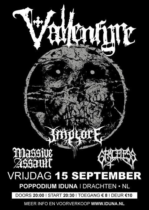 Poppodium Iduna - Drachten (Holland) September 15 - 2017 Vallen10