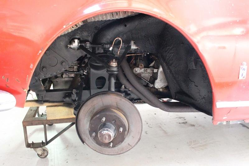 Giulia Spider 1600 . nouveau projet 31-08-16