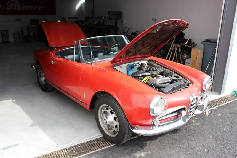 Giulia Spider 1600 . nouveau projet Img_2121