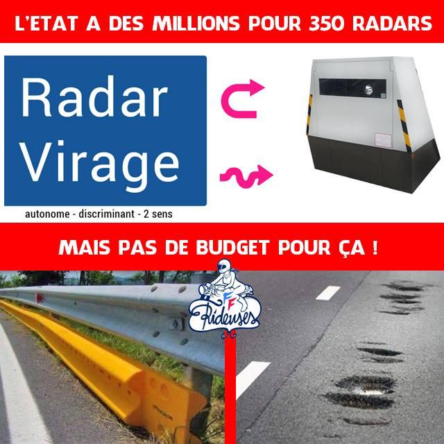 """les """"radars de virages"""" se déploient Radar11"""