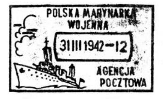 Timbres des forces polonaise en exil à Londres Agencj10