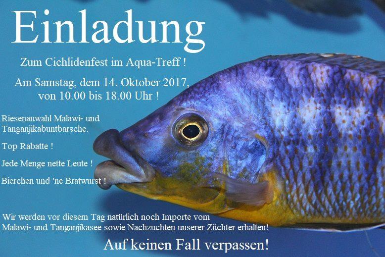 """""""Cichlidenfest"""" - Aqua Treff (DE) - 14 octobre 2017   Cichli10"""