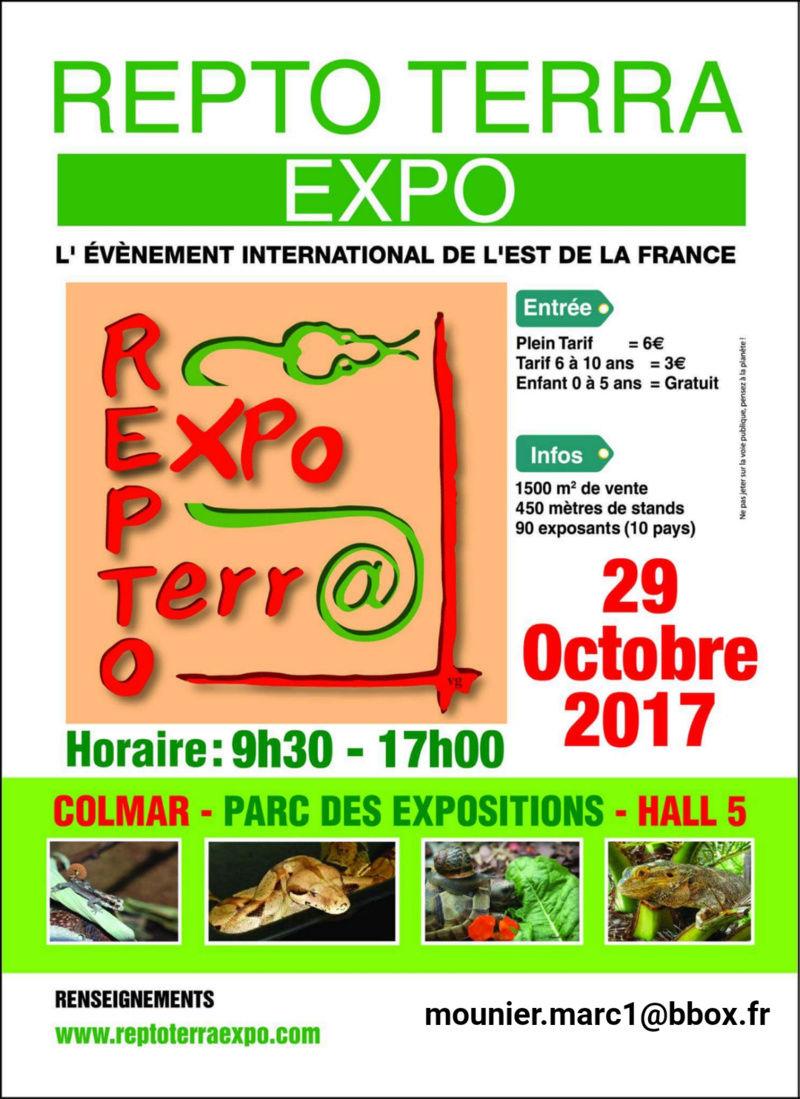 Repto Terra Expo Colmar (68) - 29 octobre 2017  Repto_10