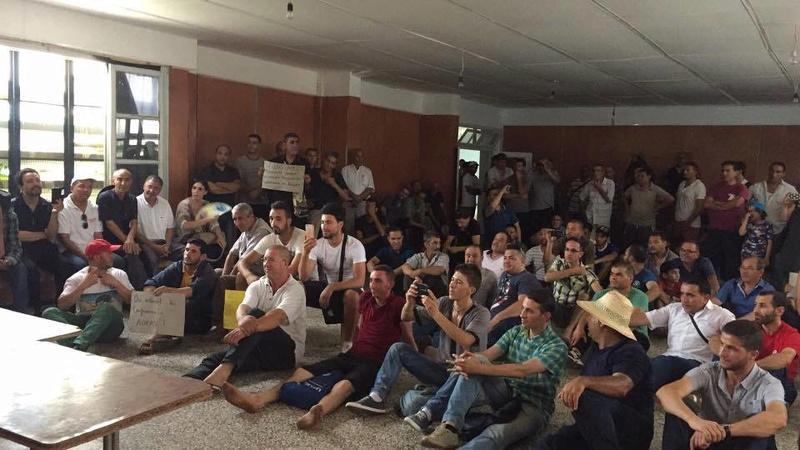 Marche citoyenne de soutien au café littéraire d'Aokas le samedi 22 juillet 2017 1135