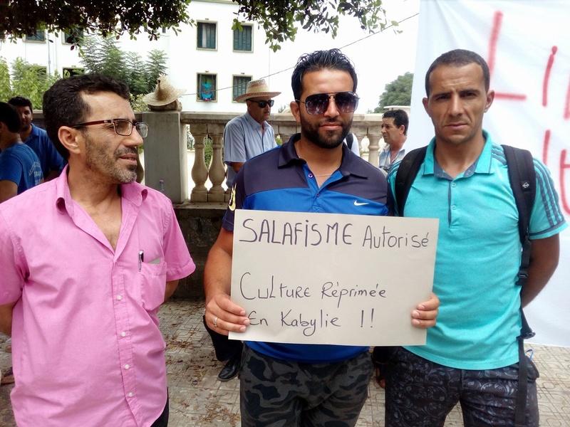 un dispositif de guerre pour interdire la conférence de Ramdane Achab le 22 juillet 2017 à Aokas 1140