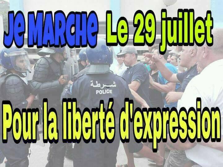 Deuxième marche à Aokas pour la liberté d'expression le samedi 29 juillet 2017 1154
