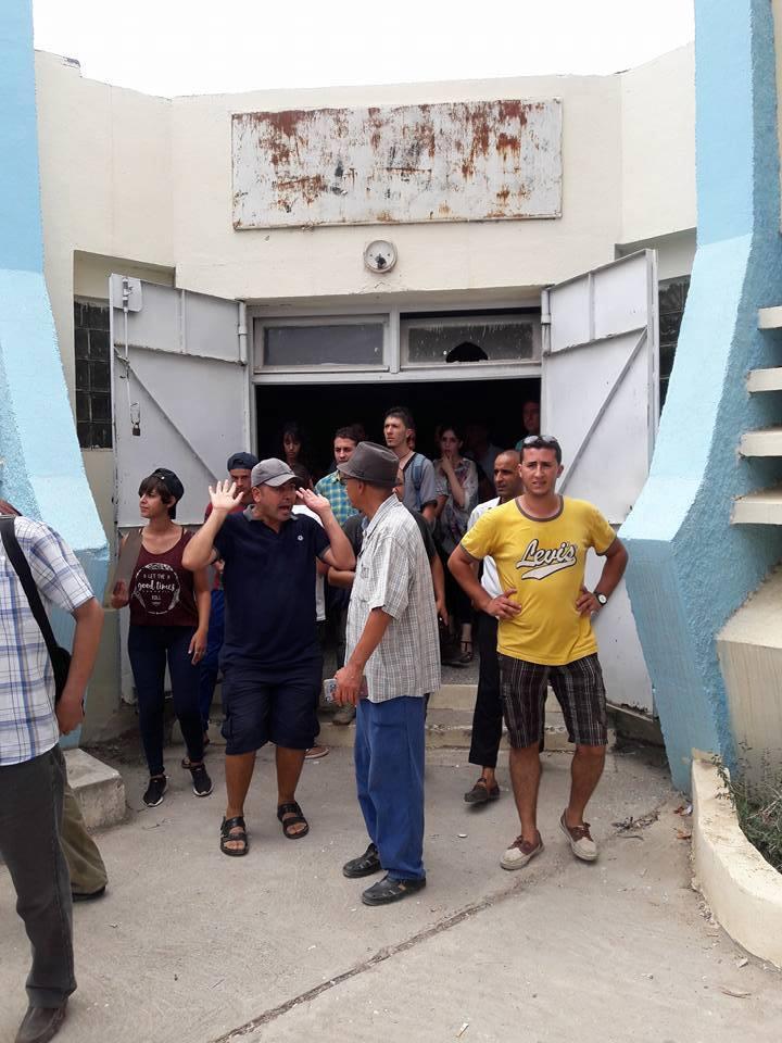 Plusieurs personnes tabassées après une conférence du café littéraire d'Aokas 22 juillet 2017 1194
