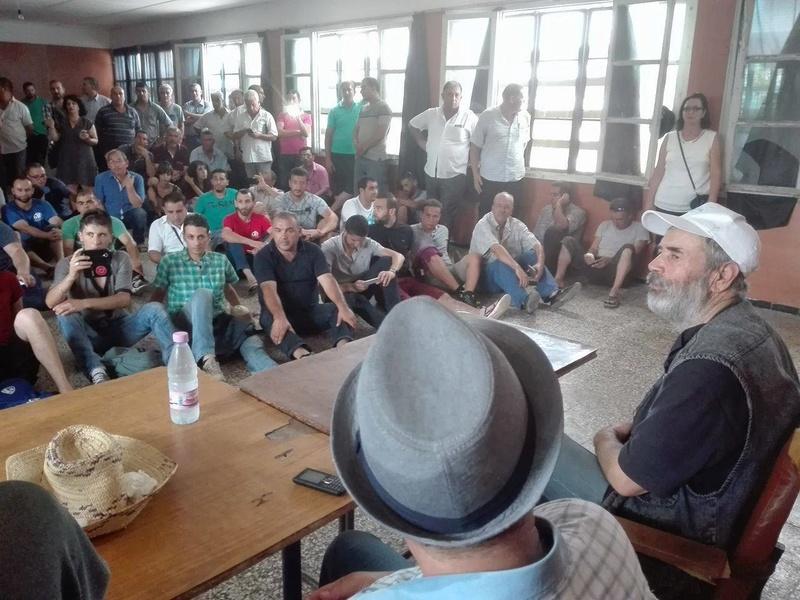 un dispositif de guerre pour interdire la conférence de Ramdane Achab le 22 juillet 2017 à Aokas 1210
