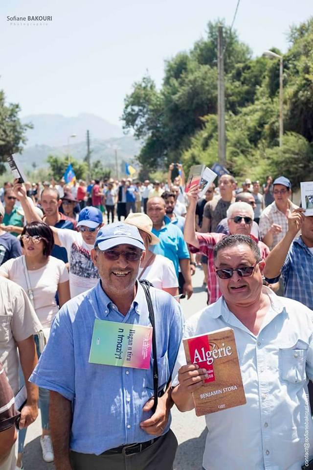 La marche du livre le samedi 29 juillet 2017 à Aokas dans la grande mobilisation 1283