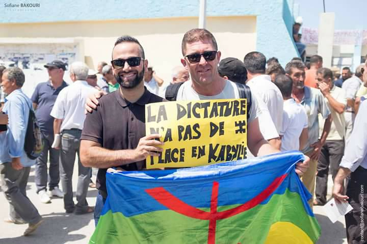 La marche du livre le samedi 29 juillet 2017 à Aokas dans la grande mobilisation 1285