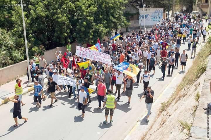 La marche du livre le samedi 29 juillet 2017 à Aokas dans la grande mobilisation 1289
