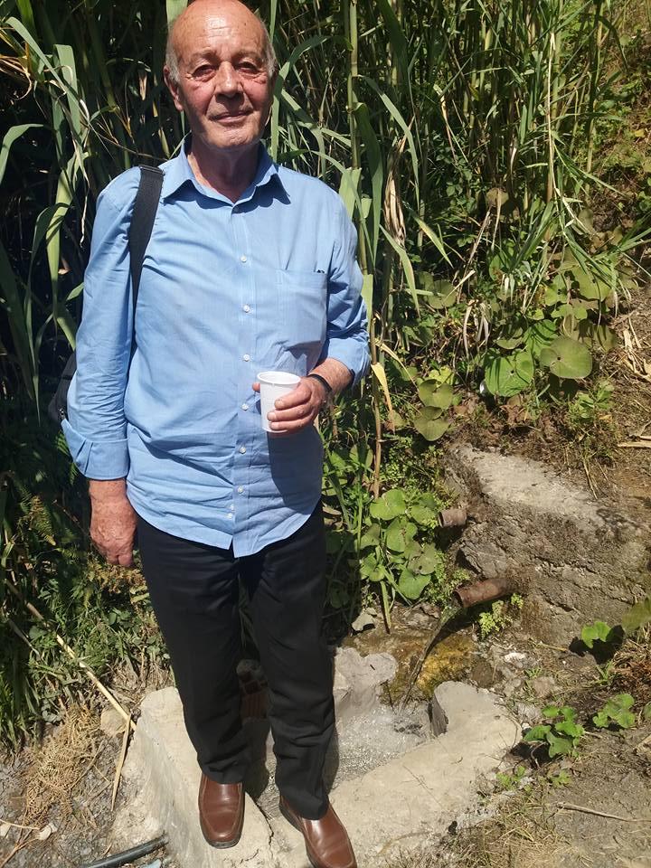 L'écrivain Armand Vial en tournée à Aokas le 08 juillet 2017 Armand10