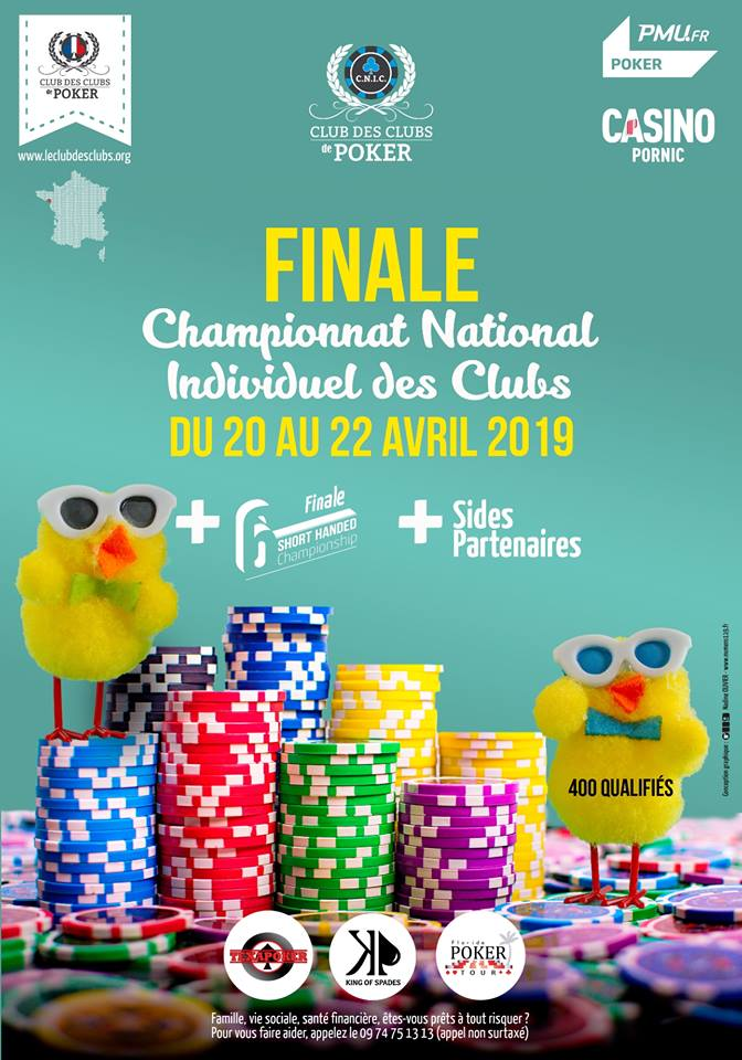 Finale C.N.I.C. 2019 : direction Pornic, en Pays de la Loire, du 20 au 22 avril 2019! Finale13