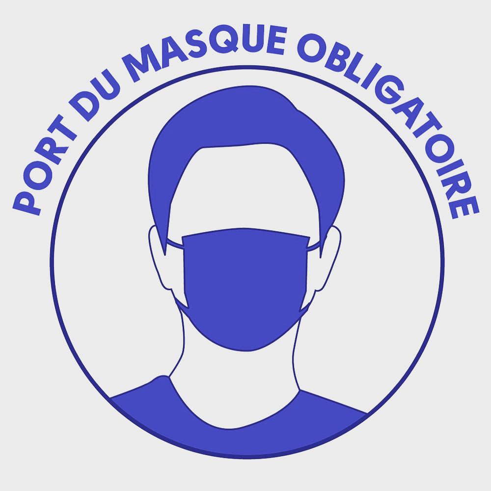 Masque OBLIGATOIRE Masque10