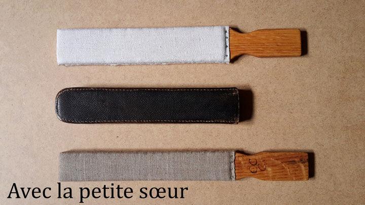 Paddle Chêne-Cuir-Canevas Paddle15