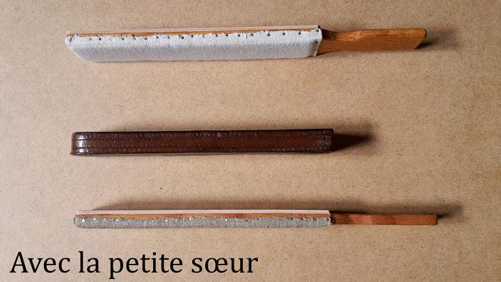 Paddle Chêne-Cuir-Canevas Paddle17