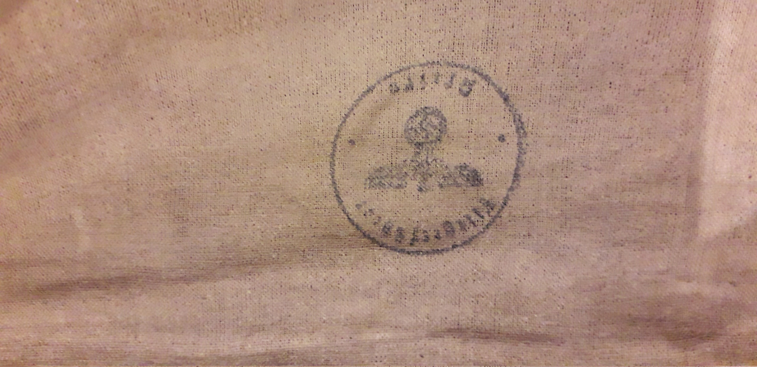 Tampon  Allemand dans sac médical français 1940 20200724