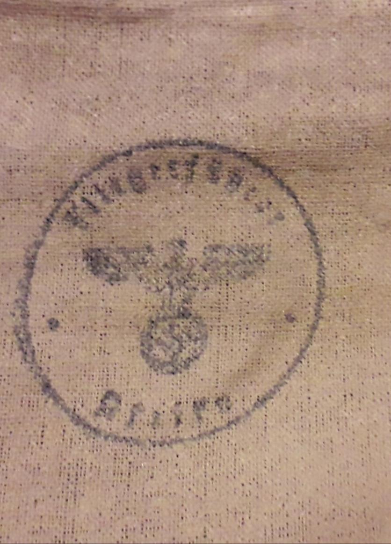 Tampon  Allemand dans sac médical français 1940 20200725