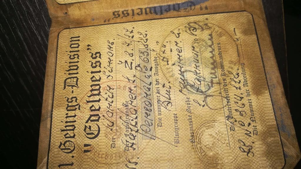 Document allemand ww2? Receiv46