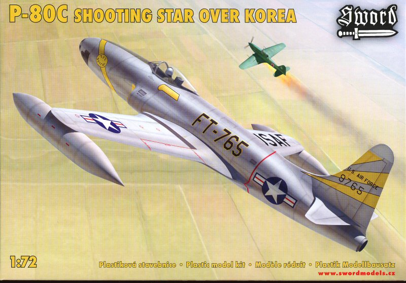 P 80 SHOOTING STAR         SWORD 1/72 Avion_31