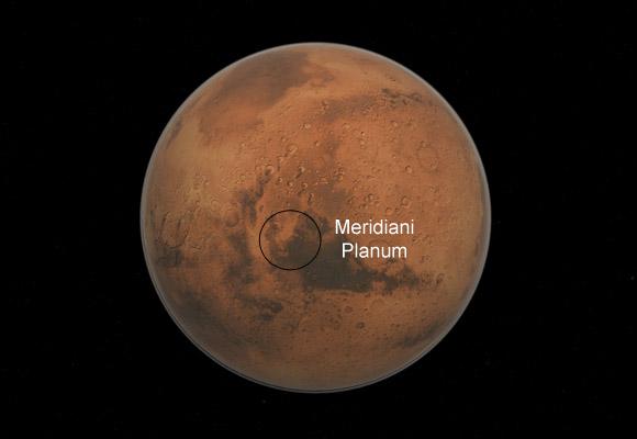 A la conquête de la planète rouge : Opportunity  : après 15 ans c'est fini !!! Meridi10