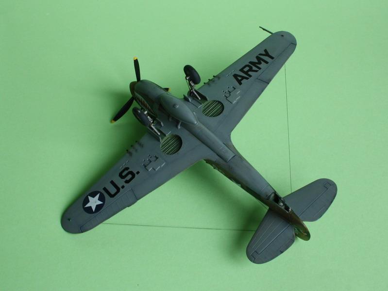 16h pour un ch'ti P40 E de l'USAAF (HobbyBoss au 72) - Page 3 P40_e_28