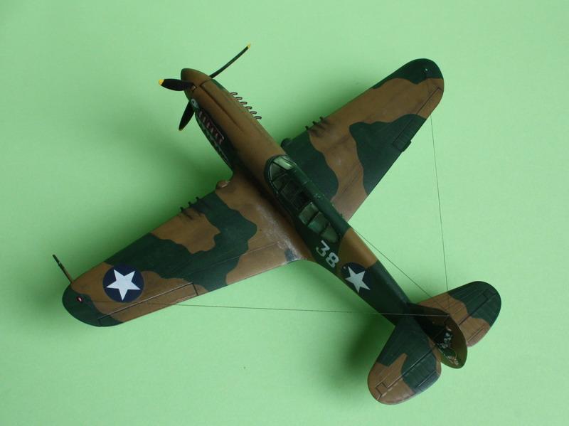 16h pour un ch'ti P40 E de l'USAAF (HobbyBoss au 72) - Page 3 P40_e_29