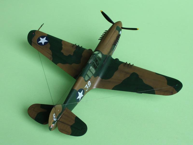 16h pour un ch'ti P40 E de l'USAAF (HobbyBoss au 72) - Page 4 P40_e_30