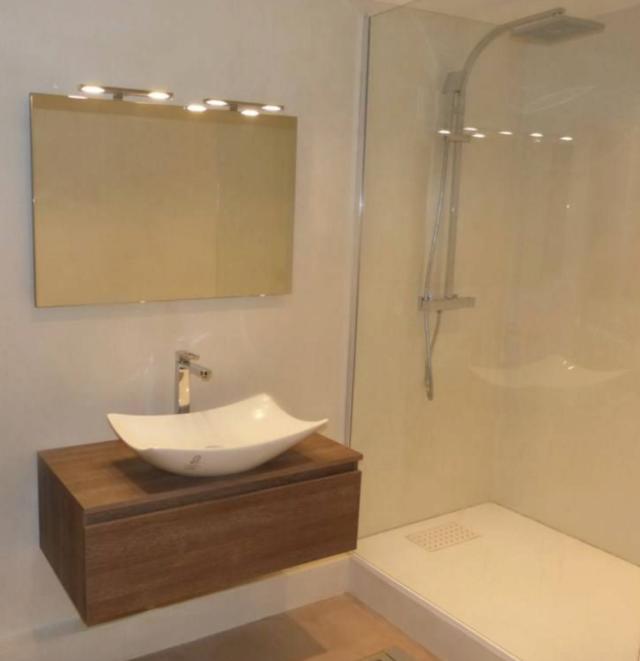 Carrelage salle de bain et meuble Captur43