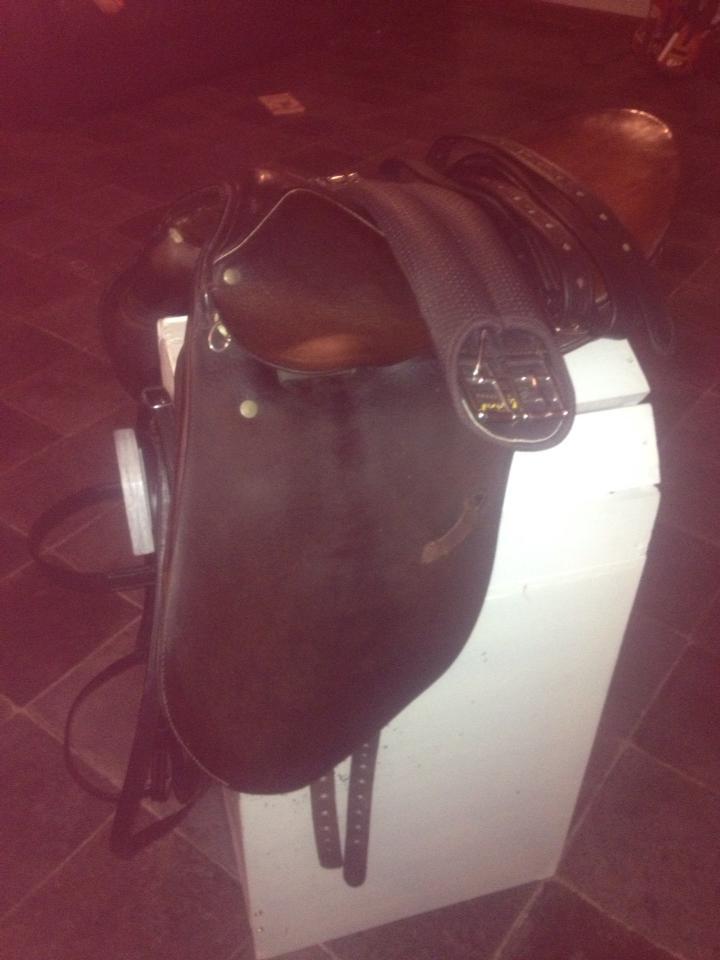 15.5 Stubben krefeld pony show saddle 15067811