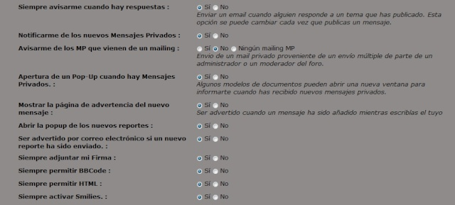 """Activar """" Siempre Permitir HTML """" en el perfil. Html10"""