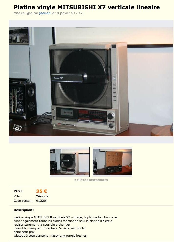 Platine vinyle verticale Amstrad(le bon coicoin) Captur29