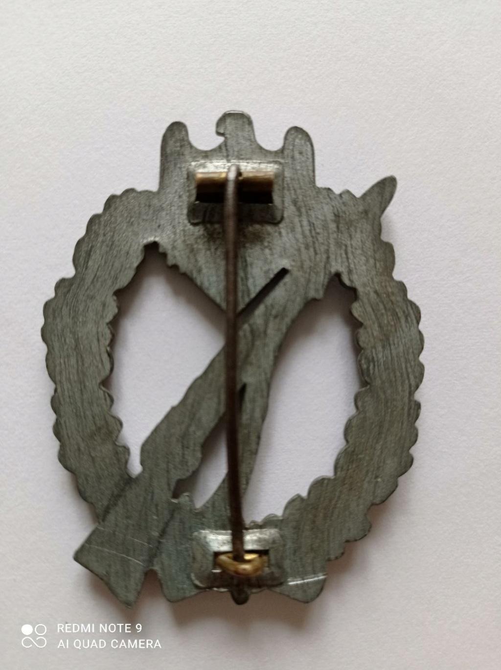 Insigne d'assaut d'Infanterie, fabricant ? Thumbn12
