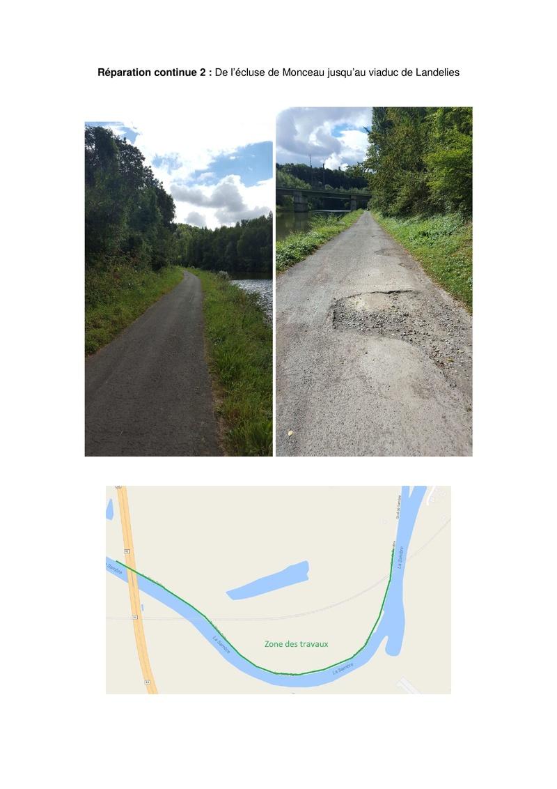 RAVeL 3 (Part 1) Erquelinnes - Marchienne-au-Pont - Eurovelo 3 - EV3 - Itinéraire n°6 - Page 2 40013511