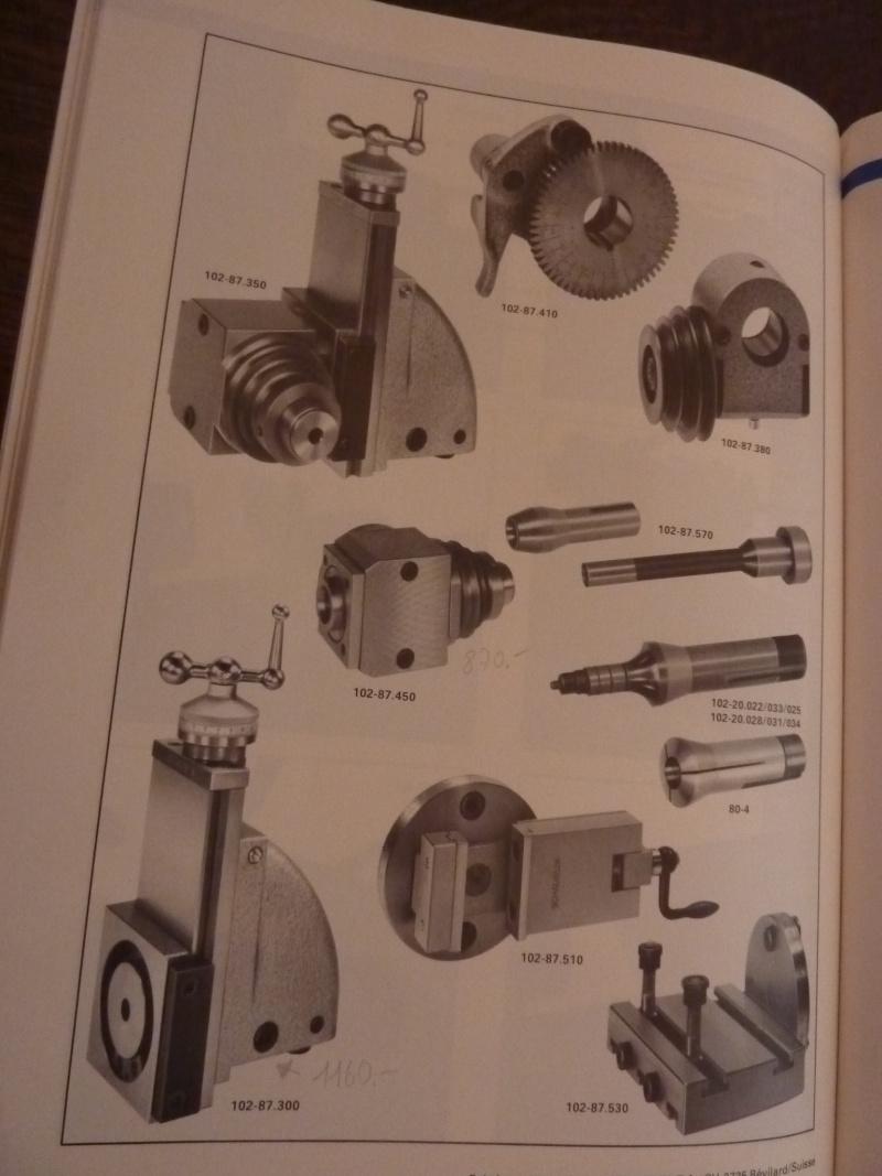 Tour Schaublin, la Rolls des petits tours ! - Page 6 P1030852