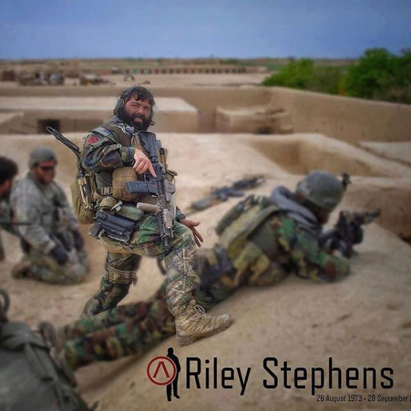In Memorium: SFC Riley Stephens * US Special Forces Screen11