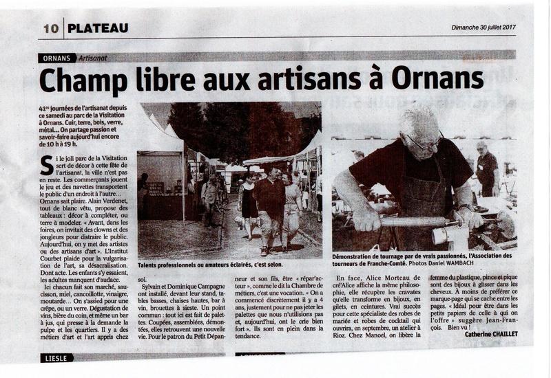 Jounée d'art et Artisanat d'ORNANS 29/30 juillet 2017 Img20110